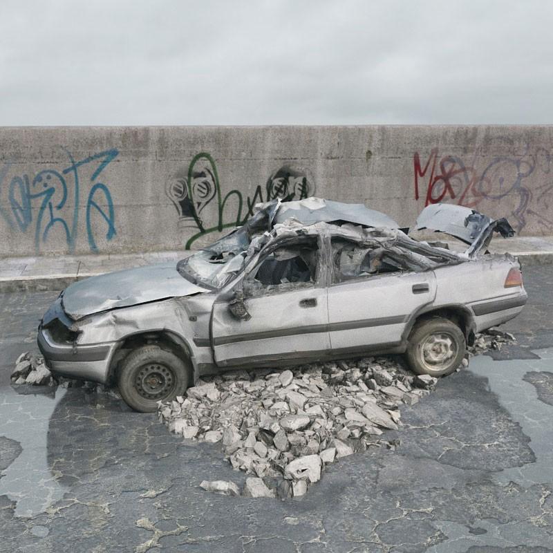 teoria dei vetri rotti macchina distrutta