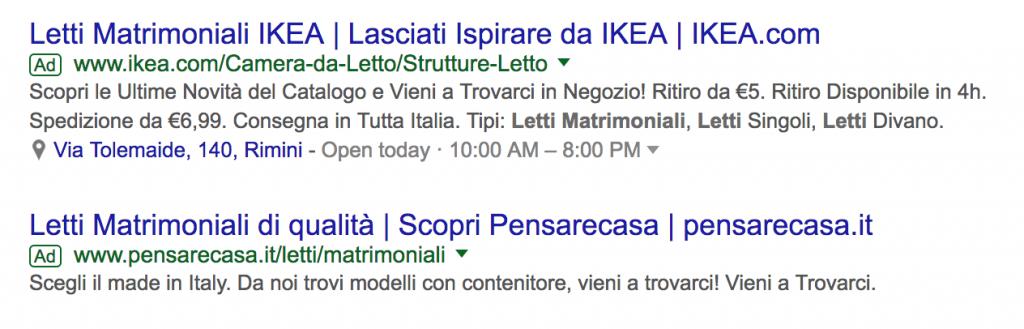 google adwords ads trovare clienti