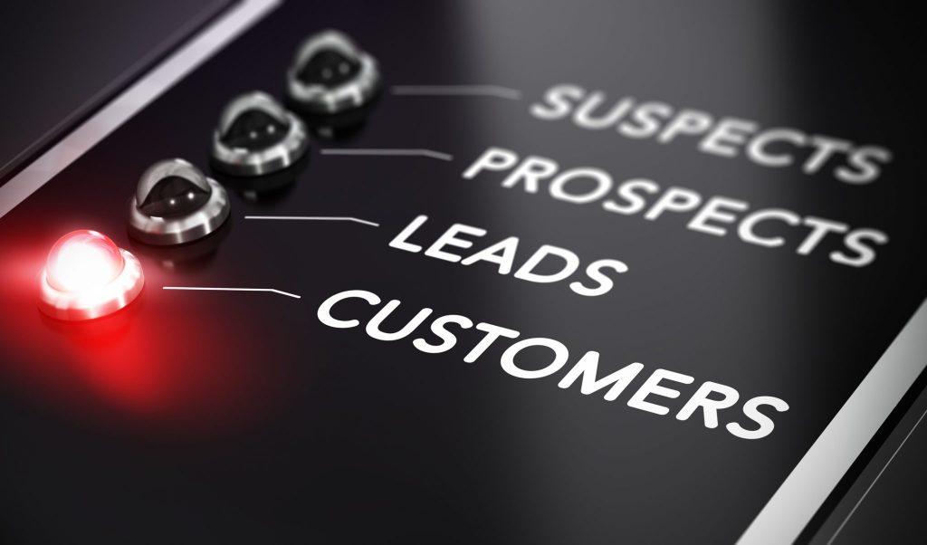 sales funnel: clienti