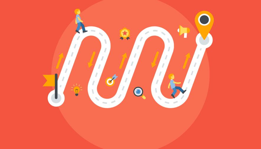 sales funnel: customer journey