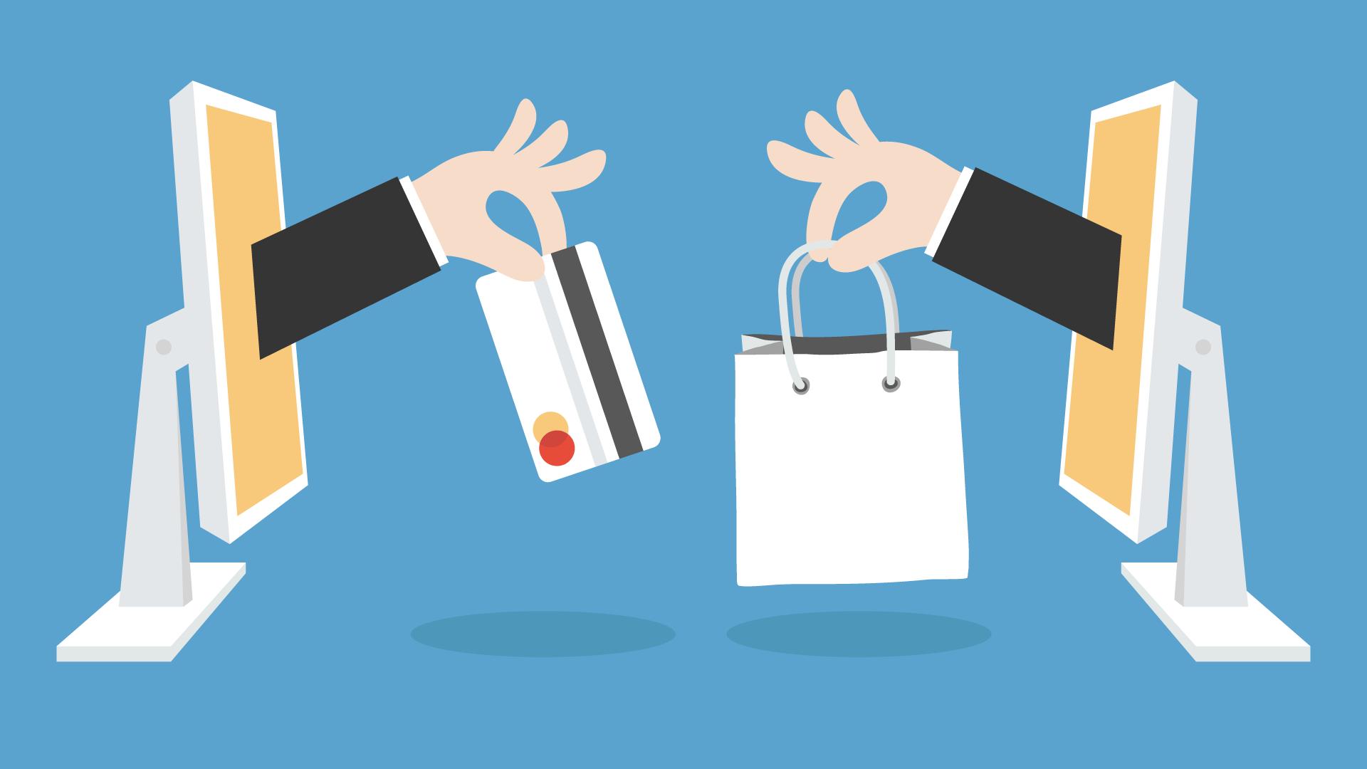 acquisire clienti - online shopping