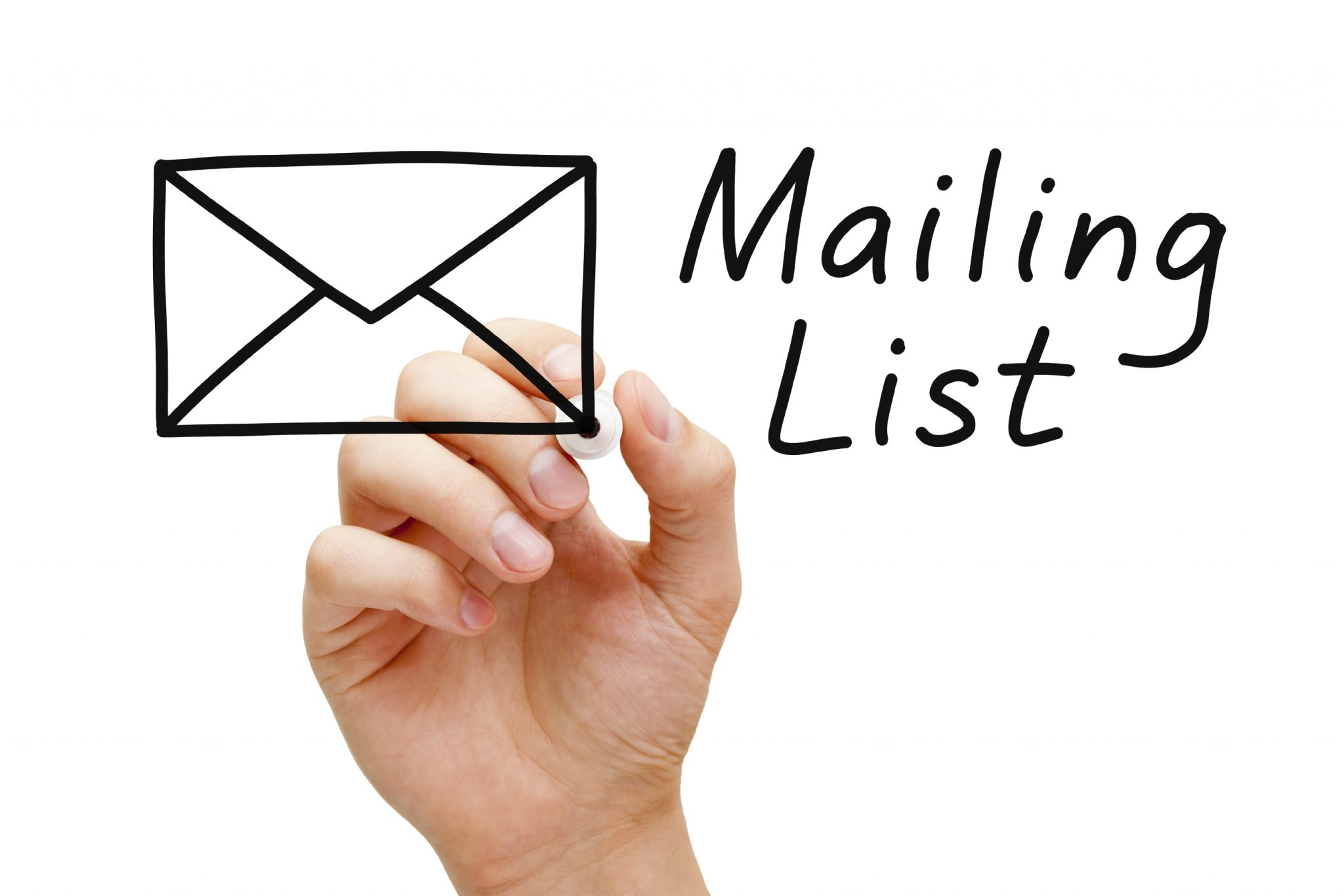 email vs social: mailing list